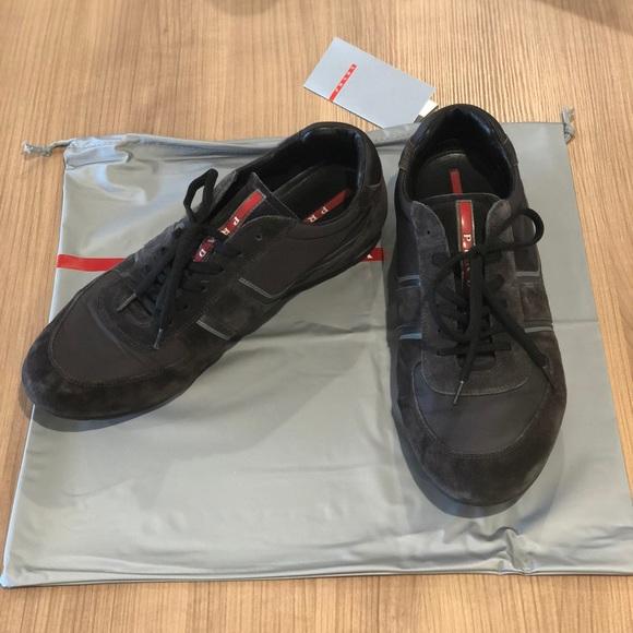 Prada Shoes   Prada Suede Sneaker